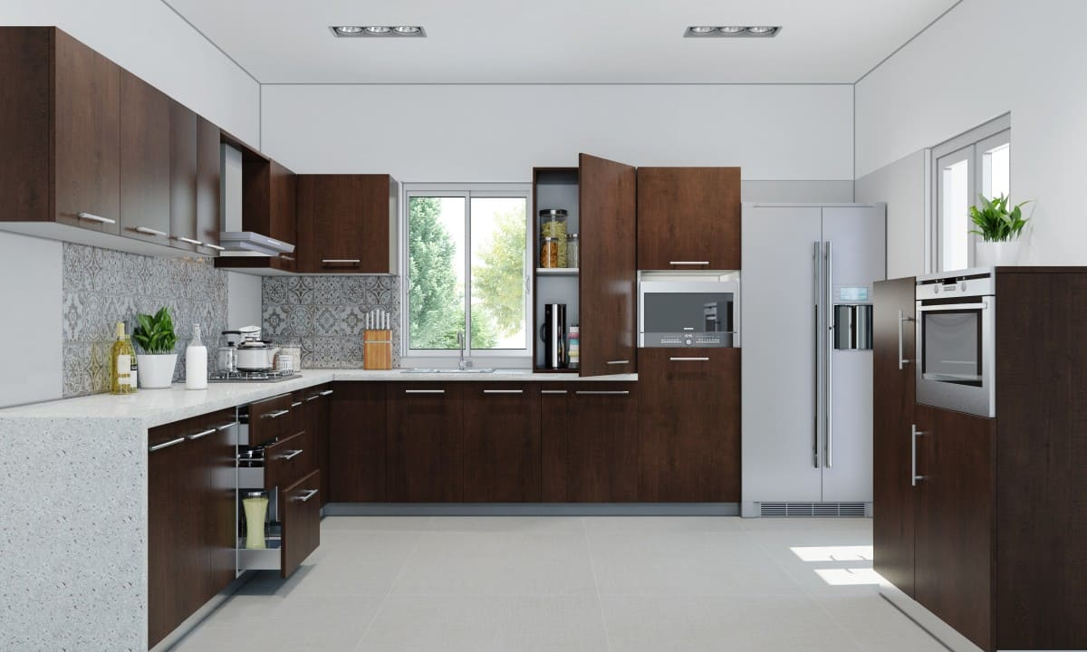 kitchen interior design and renovation in pakistan